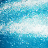 Soft focus blue water background Royalty Free Stock Photography