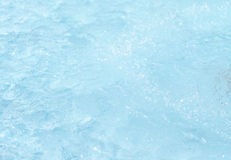 Soft focus blue water background Stock Images