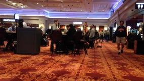 Soft focus of casino lobby inside Hard Rock Casino Stock Images