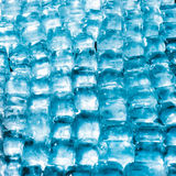 Soft focus fresh cool ice cube. Colored Royalty Free Stock Images