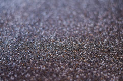 Soft focus Healthy Chia seed background. Close up background of Chia seeds Stock Images