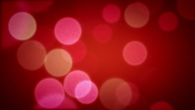 Soft Focus Light Particles Red stock video footage