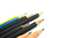 Soft focus,Wooden pencil Royalty Free Stock Photography