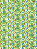 Soft Focused Dots on Olive Green Stock Photos