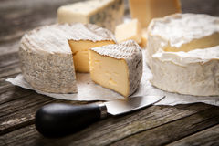 Soft french cheese Stock Photos