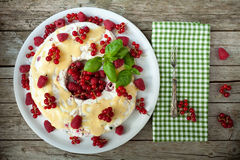 Soft Fruits Semifreddo Royalty Free Stock Images