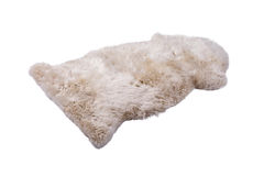 Soft fur carpet Royalty Free Stock Images