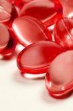 Soft gelatin capsules. Stock Image