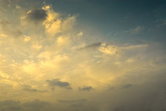 Soft gentle sky and light Stock Photography