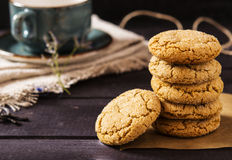 Soft ginger cookies Stock Photo