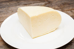 Soft goat cheese Royalty Free Stock Images