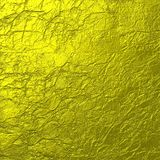 Soft Gold Crumpled Texture Background. Soft gold crumpled paper texture , suitable for background or layer art Stock Photo