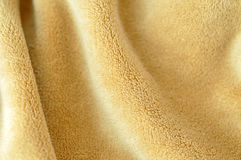 Soft Golden Baby Blanket Stock Image