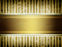Soft golden brown parchment background. With ribbon stock image