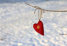 Soft good heart Stock Photo