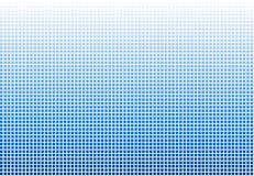 Color Transition Mosaic white to blue. Soft gradient color transition Mosaic - white to blue royalty free illustration