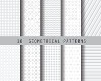 Soft gray geometric pattern Royalty Free Stock Image