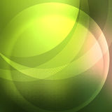 Soft green background overlay form following lines Royalty Free Stock Images
