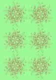 Soft floral spirals Stock Images