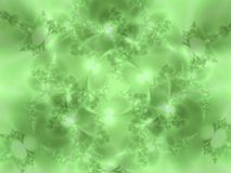 Soft Green Flowery Texture Royalty Free Stock Photos