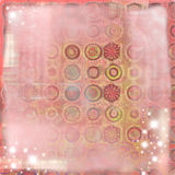 Soft Grunge Abstract Romantic Background. A soft and dreamy romantic background for scrapbooking and design Stock Images