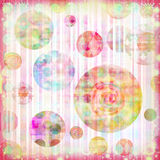 Soft Grunge Abstract Spotted Christmas Background stock illustration