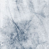 Soft Grunge Blue Abstract. Abstract Background - Blue flowing, heavily distressed shabby texture with paper grain Stock Photography