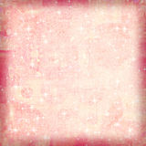 SOFT GRUNGE SPARKLE BACKGROUND. A soft dreamy airbrushed background with sparkles for scrapbooking and design Stock Images