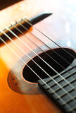 Soft guitar Royalty Free Stock Photo