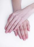 Soft hands Royalty Free Stock Photography