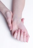 Soft hands Royalty Free Stock Photo
