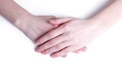 Soft hands Royalty Free Stock Photos