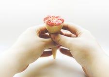Soft ice cream Stock Images