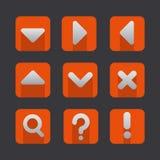 Soft icon set Royalty Free Stock Image