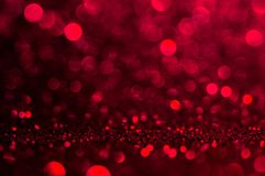 Soft image abstract bokeh dark red with light background. Red ,maroon,black color night light elegance, smooth backdrop or artwor. K design for new year royalty free stock photo