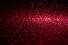Soft image abstract bokeh dark red with light background.Red,maroon,black color night light elegance,smooth backdrop or artwork de. Sign for new year,Christmas royalty free stock photography