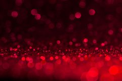 Soft image abstract bokeh dark red with light background.Red,maroon,black color night light elegance,smooth backdrop or artwork de. Sign for new year,Christmas royalty free stock image