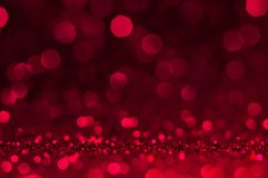 Soft image abstract bokeh dark red with light background.Red,maroon,black color night light elegance,smooth backdrop or artwork de. Sign for new year,Christmas stock images