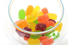 Soft jelly candies royalty free stock image