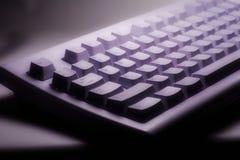 Soft Keyboard. Lighting sets the mood royalty free stock photo