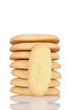 Soft lady finger cookies Stock Photography