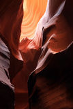 Soft light in Antelope Canyon Stock Photos