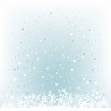 Soft light blue snow mesh background Stock Photo