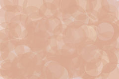 Soft light circles sparkle night yellow blush pink light. Transparent circles overlapping to make a soft abstract background Royalty Free Stock Photo