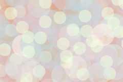 Soft light circles sparkle night yellow. Small dots and large blue green and blush circles abstract fun romantic stock illustration