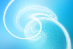 Soft light effects on a blue background. Abstract background in high resolution and best quality royalty free illustration
