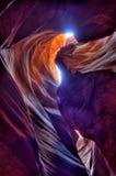 Upper Antelope Canyon, Page Arizona stock photos