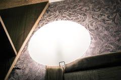Soft lighting. In the corridor stock photo