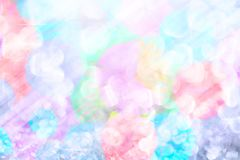Soft lights blurry on pastel colors with bokeh background. Soft lights blurry on pastel colors with bokeh abstract as background Stock Photos