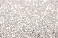 Soft lights silver background Royalty Free Stock Images